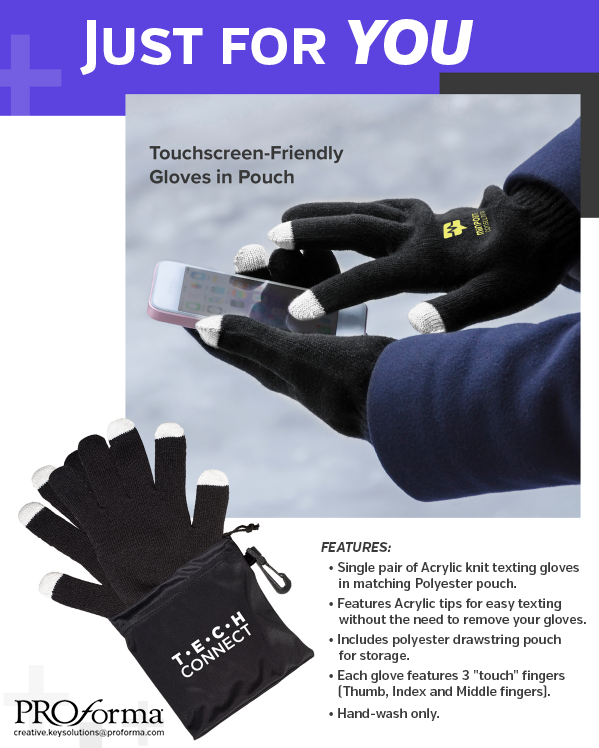 Wear gloves and continue to use your phone! Email us today for more information.  . #proformakeysolutions #gloves #quarantinecrazy #touchgloves #marketing #promotionalproducts #necessary #alonetogether #notouchy https://t.co/cnt1CLxcsI