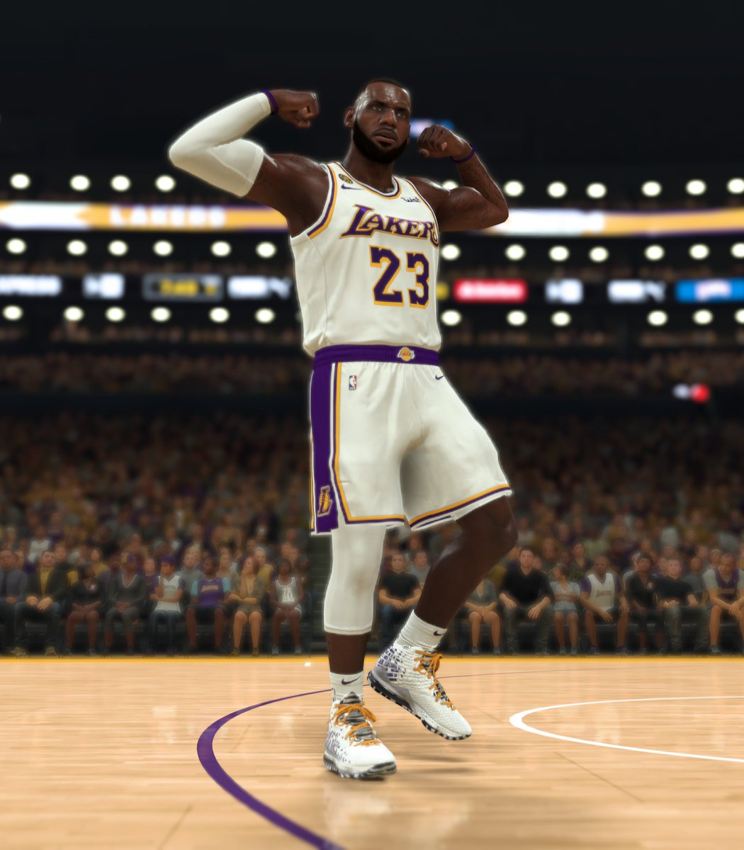The LeBron 17 'Bron 2K Playoffs' GE.  Win a MyPLAYER Nation playoff game on @NBA2K starting April 18 to unlock @KingJames' second Gamer Exclusive.  Learn more: https://t.co/aLiRWSs3o1 #NBA2K20 #Nike https://t.co/EUywtM1Daa