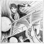 妻に連れられV6のツアーに参戦した夫(67)が、長野くんからファンサ貰いテンションMAXで描いた絵!