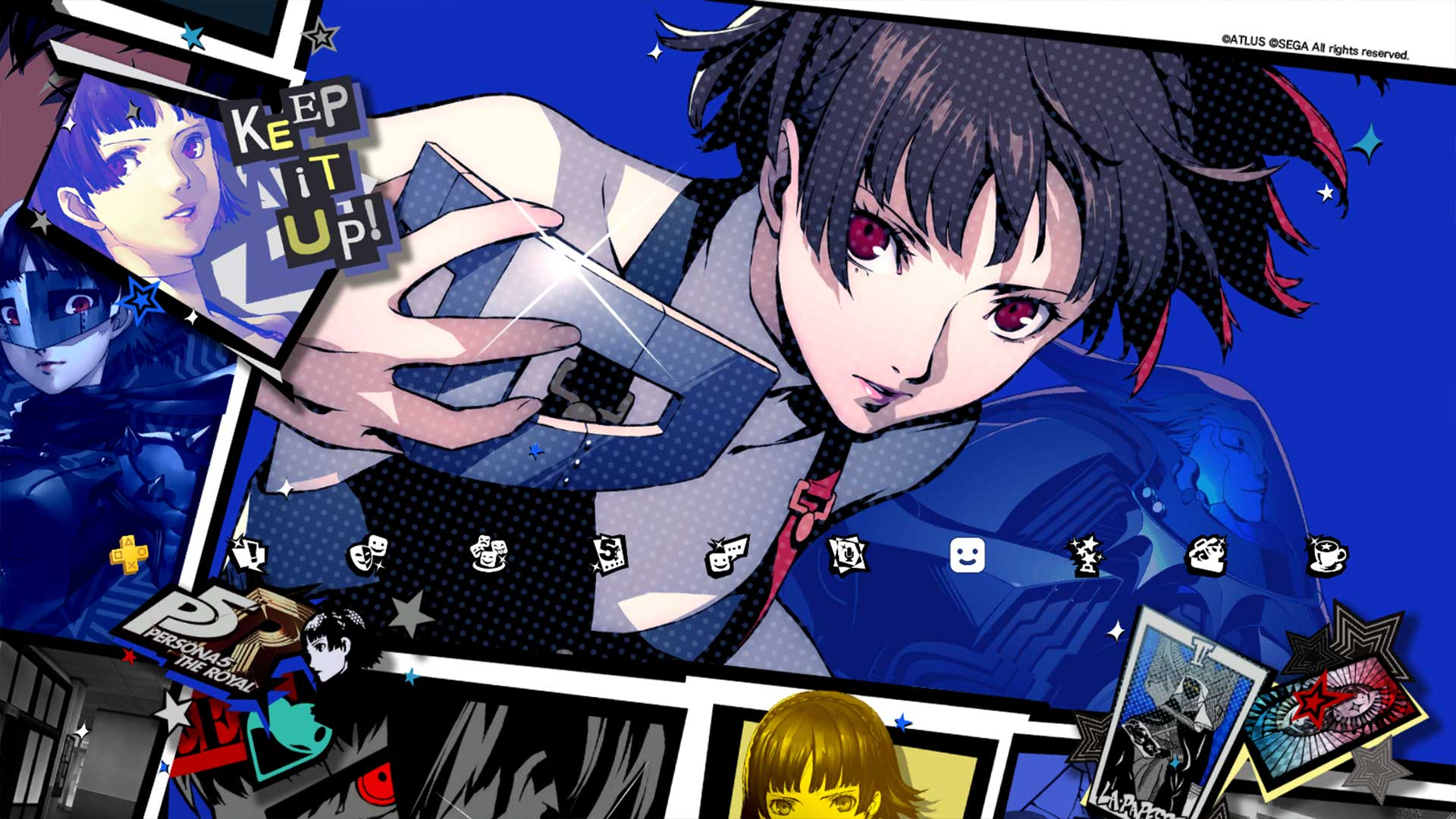 Persona Central On Twitter Preview Images Of The Persona 5 Royal Themes For Yusuke Makoto And Futaba From The Japanese Version Of The Game