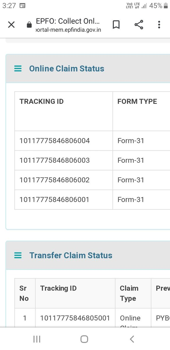 @epfoggn_west  EPFO I have submitted my claim through Online  on 05April,2020 my UAN No 101177758468 Gurgaon branch,But still it's showing under process when I can expect money in my account. pic.twitter.com/Pn5t90FL8dpic.twitter.com/r5aVSmjbgb