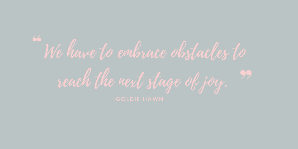 I know this is hard. Really hard. But we have to embrace these times if your going to come through it. #choosejoy