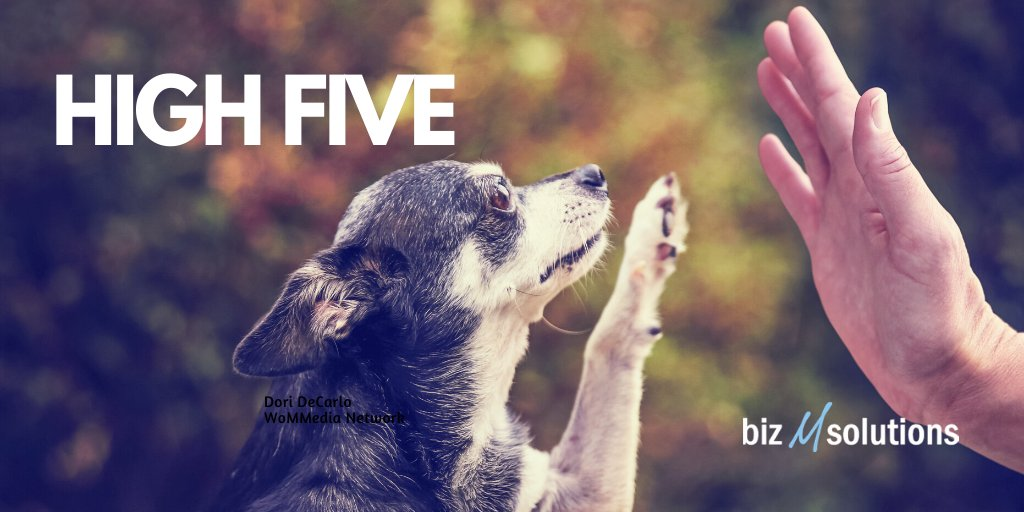 Happy National High Five Day!  Although we can't be together, we can still support and encourage one another with a virtual high five.  Here's mine! ✋ Don't leave me hanging! 😄 https://t.co/cvp8ER5pex