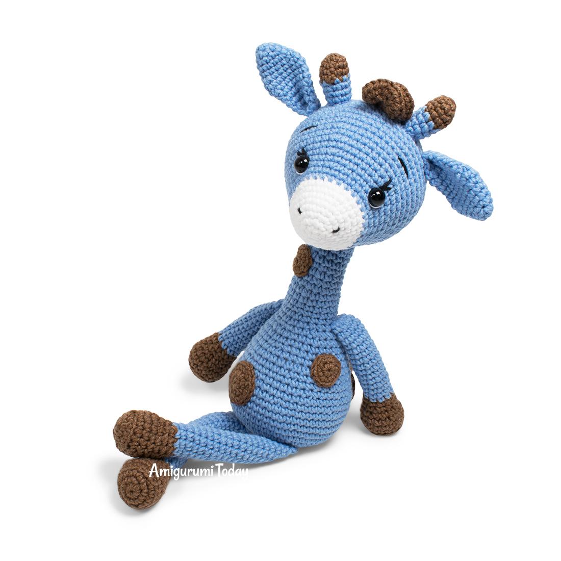 Free crochet owl amigurumi pattern - Amigurumi Today | 1100x1100