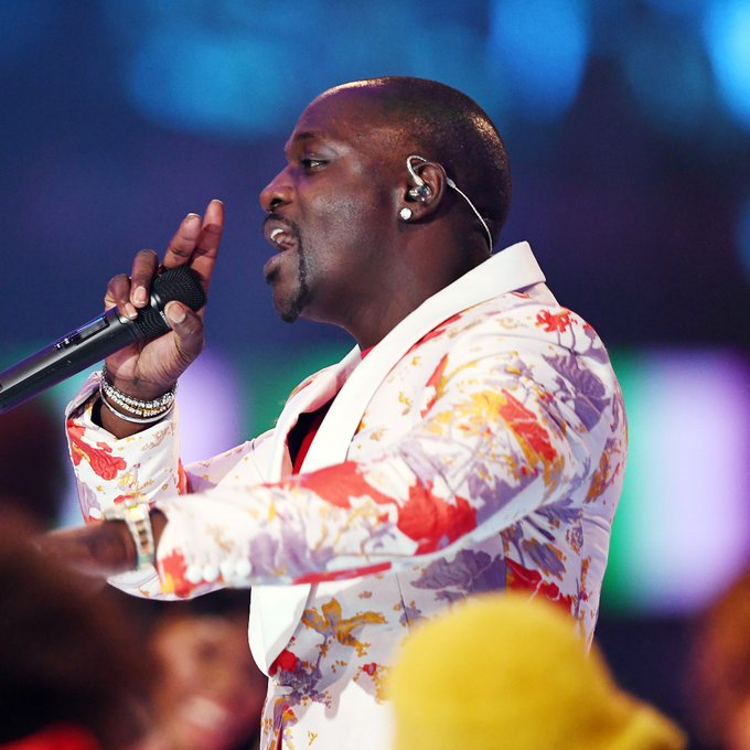 We want to wish a Happy Birthday to Akon right now, na, na.  ( : Jeff Spicer via Getty Images)