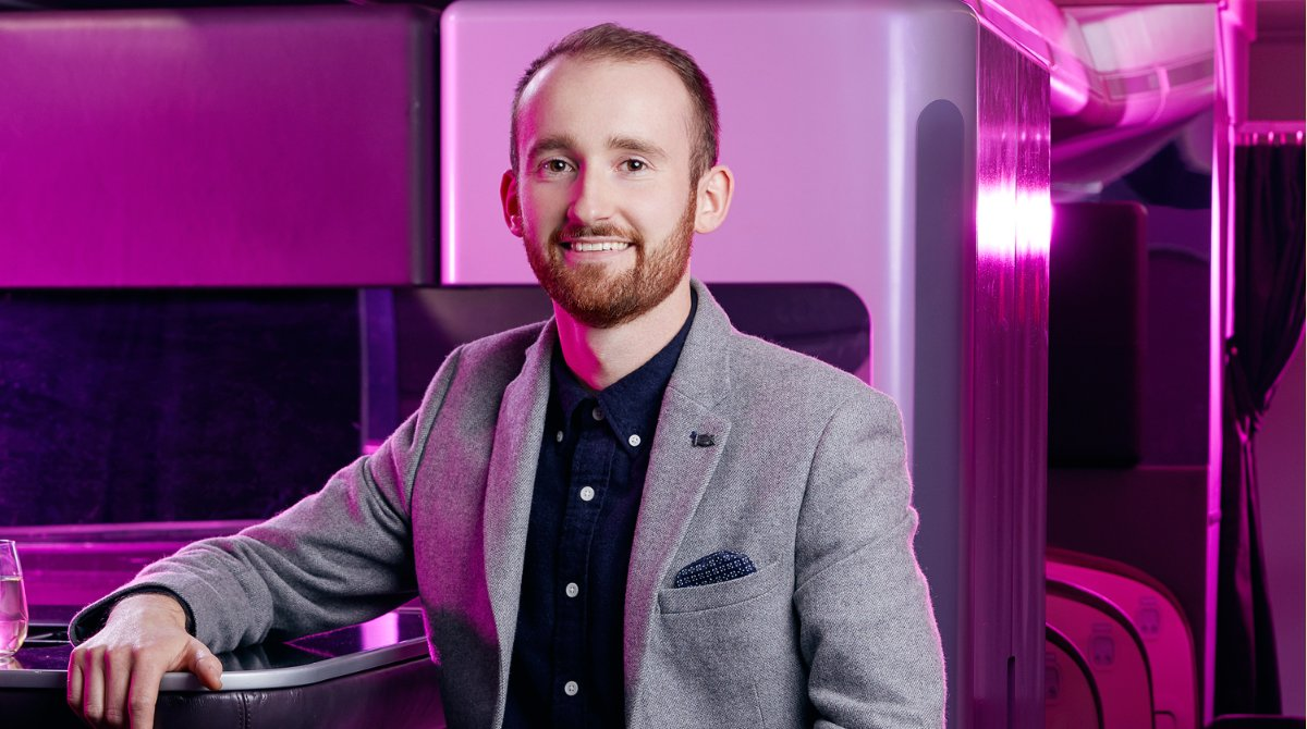 Tune in to Virgin Atlantic Flight School Lesson three on Instagram TV now: https://t.co/xWLWSZOdLU  In lesson three, Customer Experience Designer Henry Buckley talks to us about aircraft interiors, seats, onboard bars, movies and more. https://t.co/zcCBaTXTZX