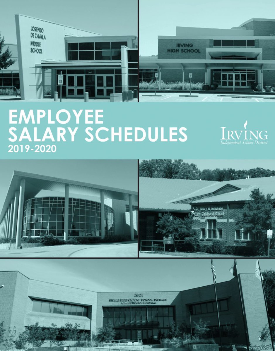 Visit irvingisd.net/cms/lib/TX0191… to see the @IrvingISD current salary schedules.