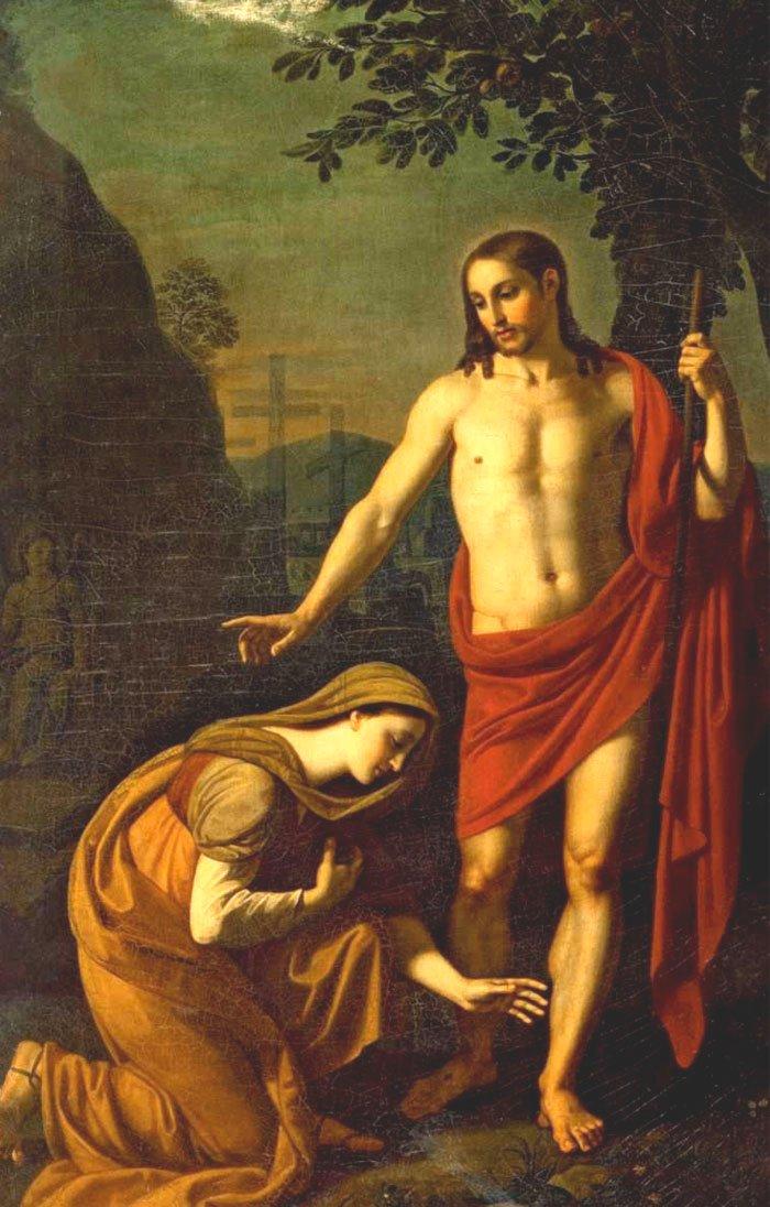 Aparição de Jesus Cristo a Maria Madalena