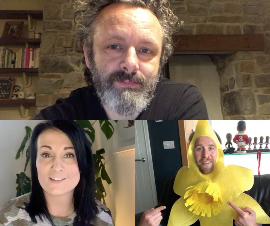 """🏴 The three special guests helping host our """"All Things Welsh"""" fundraiser quiz at 7pm tomorrow are: @bakesbymichelle @RyanJonesOnline & @michaelsheen (Michael may or may not give us a little Chris Tarrant from #quizitv 👀) Join in over on our Facebook to help raise vital funds!"""