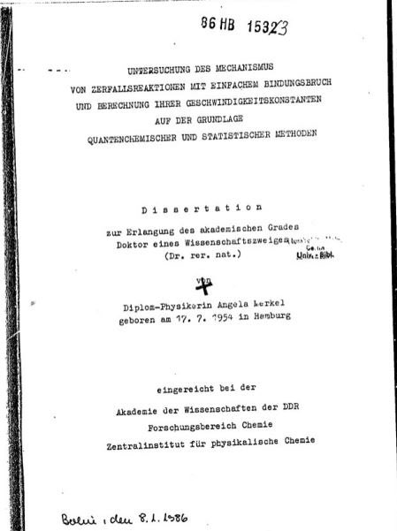 Michael J Bojdys On Twitter Nope Her Dissertation Was In Physical Chemistry Quantum Chemistry