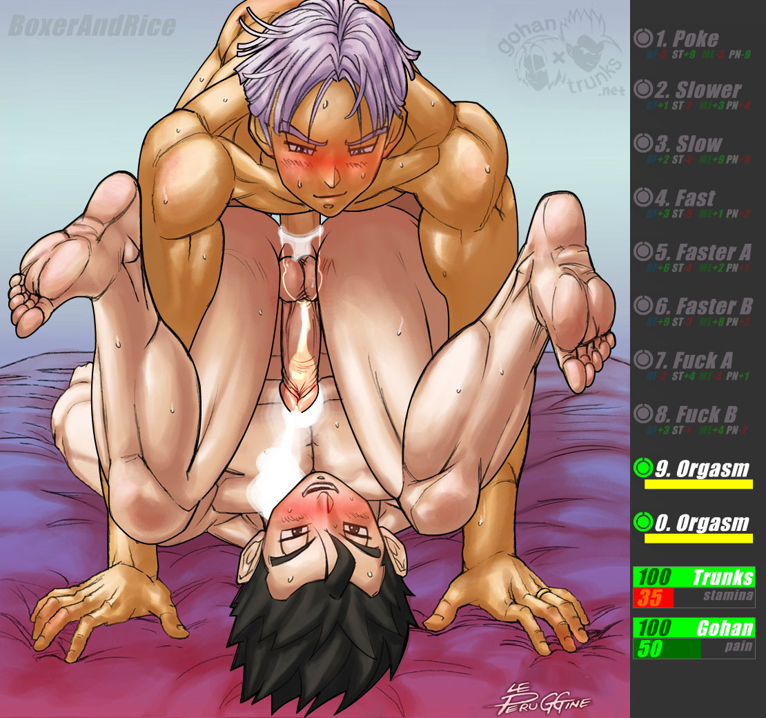 Showing Porn Images For Gohan And Trunks Yaoi Porn