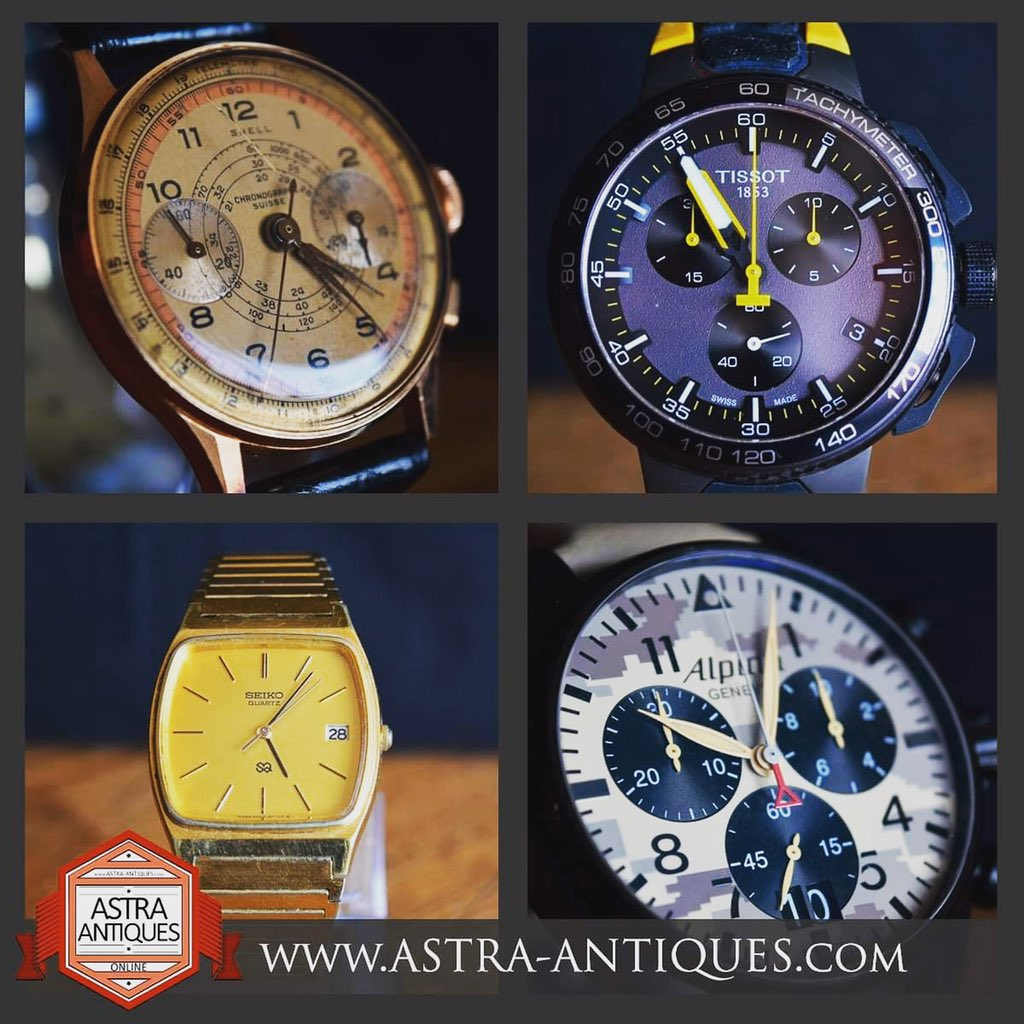 New items added to our wristwatches  section over on the website where you can have a virtual shopping experience @www.astra-antiques.com #vintagewatches #retrowatches #virtualantiquesshopping #antiquesonline #astraantiquescentre #hemswell #lincolnshire #wristwatches https://t.co/fuNaLZbUr2