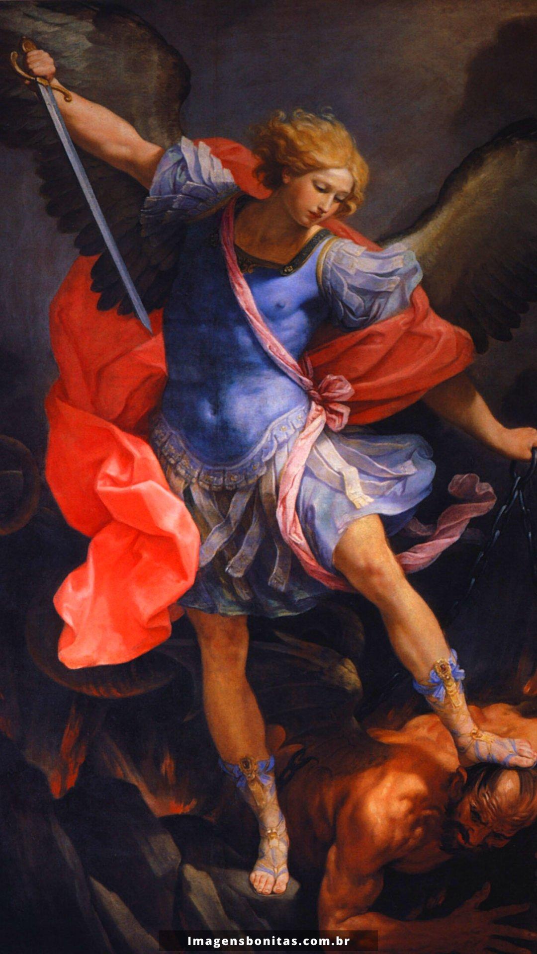 Wallpaper de São Miguel Arcanjo para celular