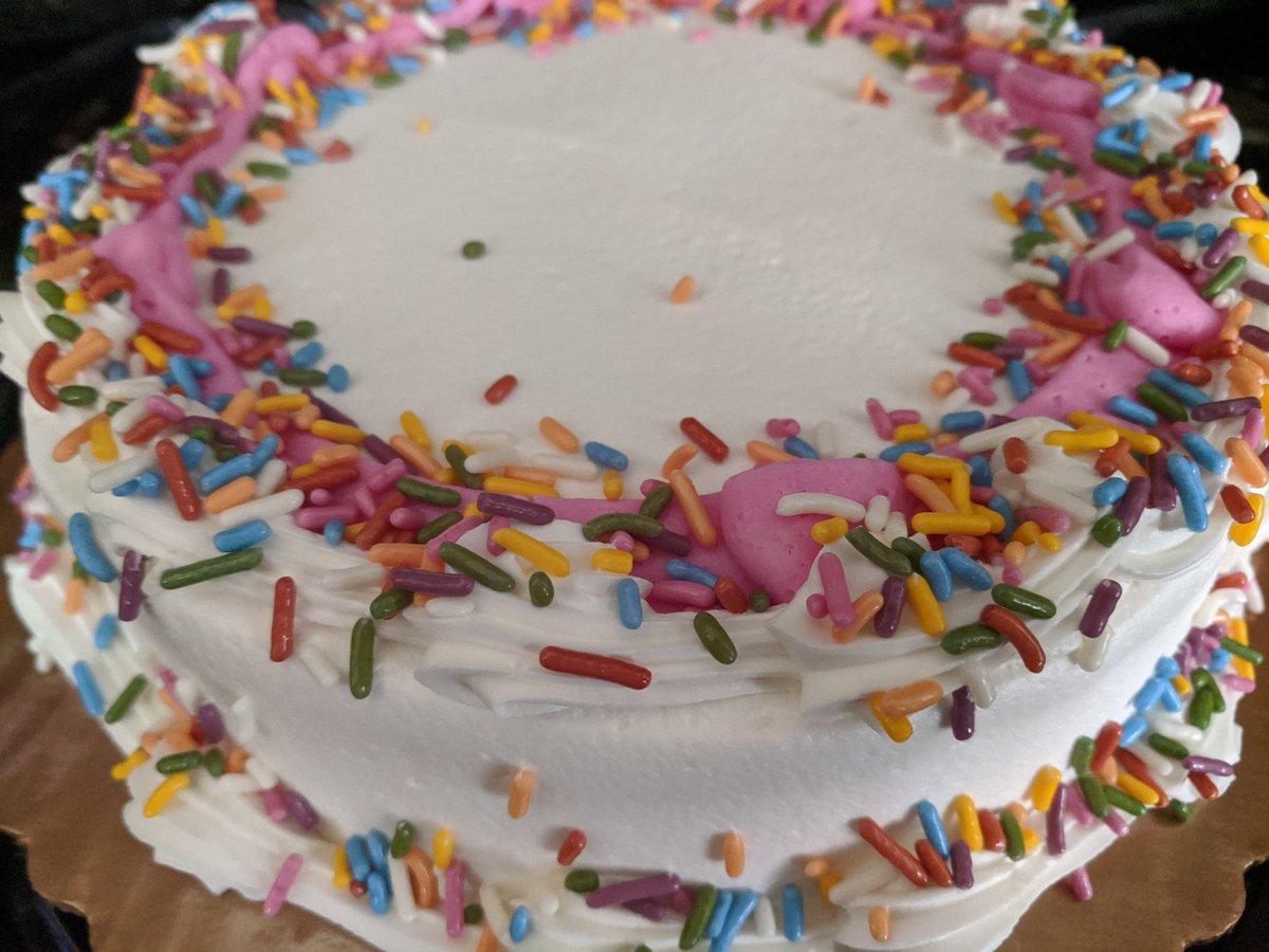 Astounding Farah Jadran On Twitter Let Them Have Cake Wegmans Cashier Personalised Birthday Cards Veneteletsinfo