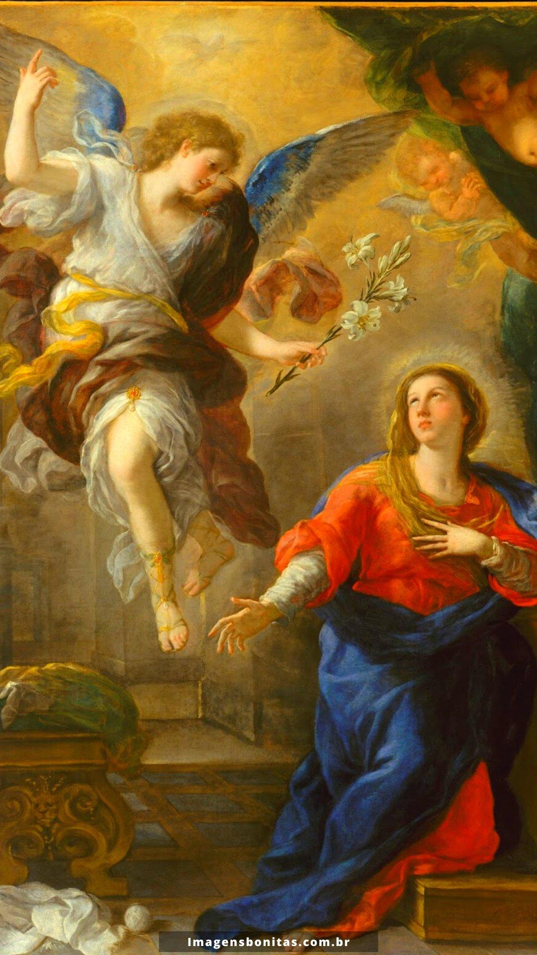 Wallpaper da Anunciação do Senhor para celular