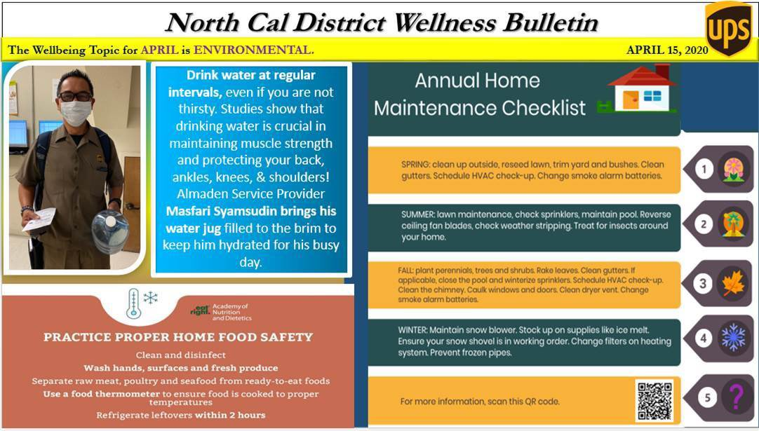 Charlotte Potente On Twitter We Are Half Way Through April Northcalupsers Are Still Focused On The Environmental Wellbeing Habit Since We Are Spending More Time In Our Homes Here S An