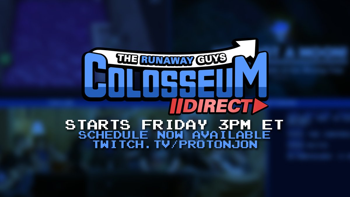 Lucahjin On Twitter The Runaway Guys Colosseum Direct Is This Weekend And The Schedule Is Out Now Who S Excited Https T Co U3jdpsg9ai Https T Co Rtabkrcxzm @lucahjin when you know you know. twitter