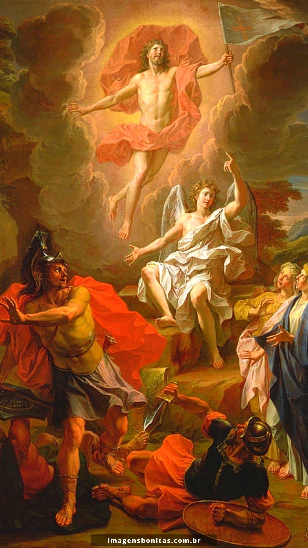 Wallpaper da Ressurreição de Jesus Cristo para celular