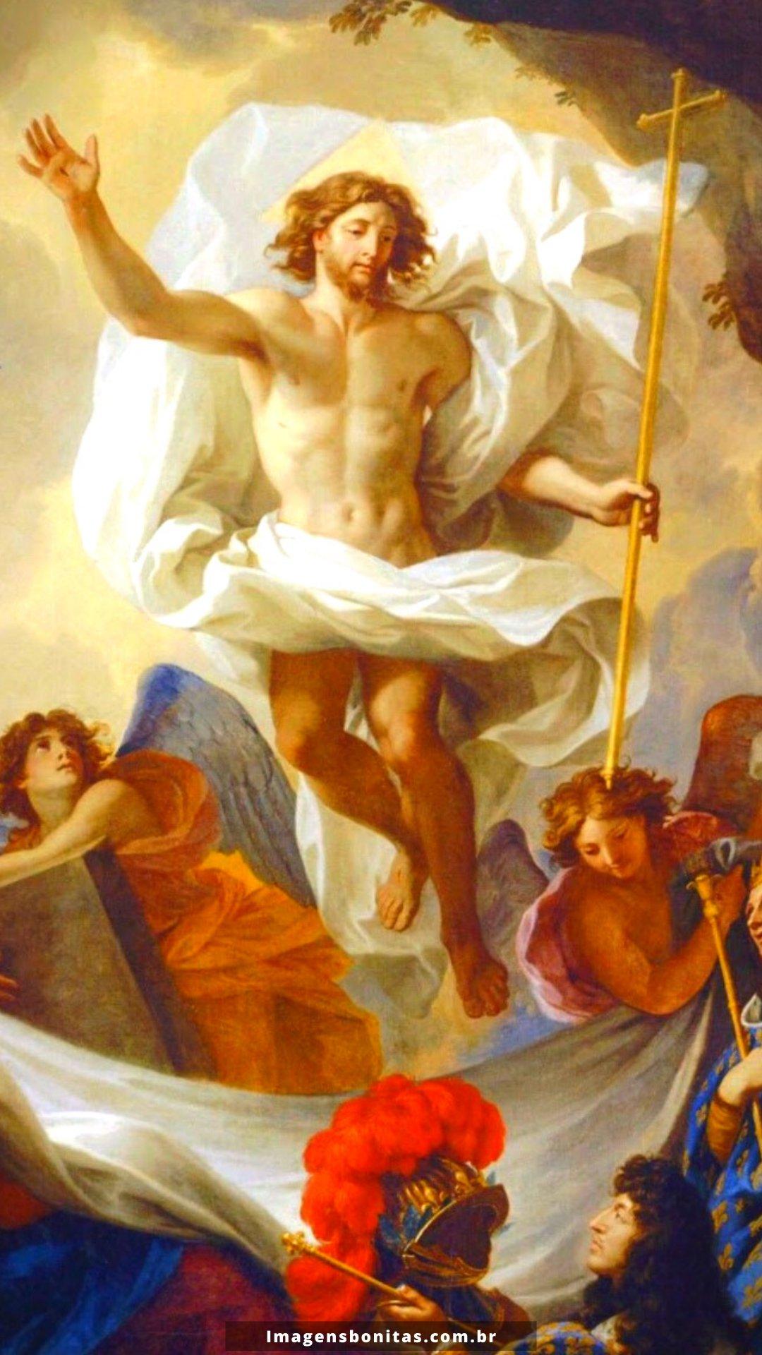 Wallpaper de Jesus Cristo Ressuscitado para celular