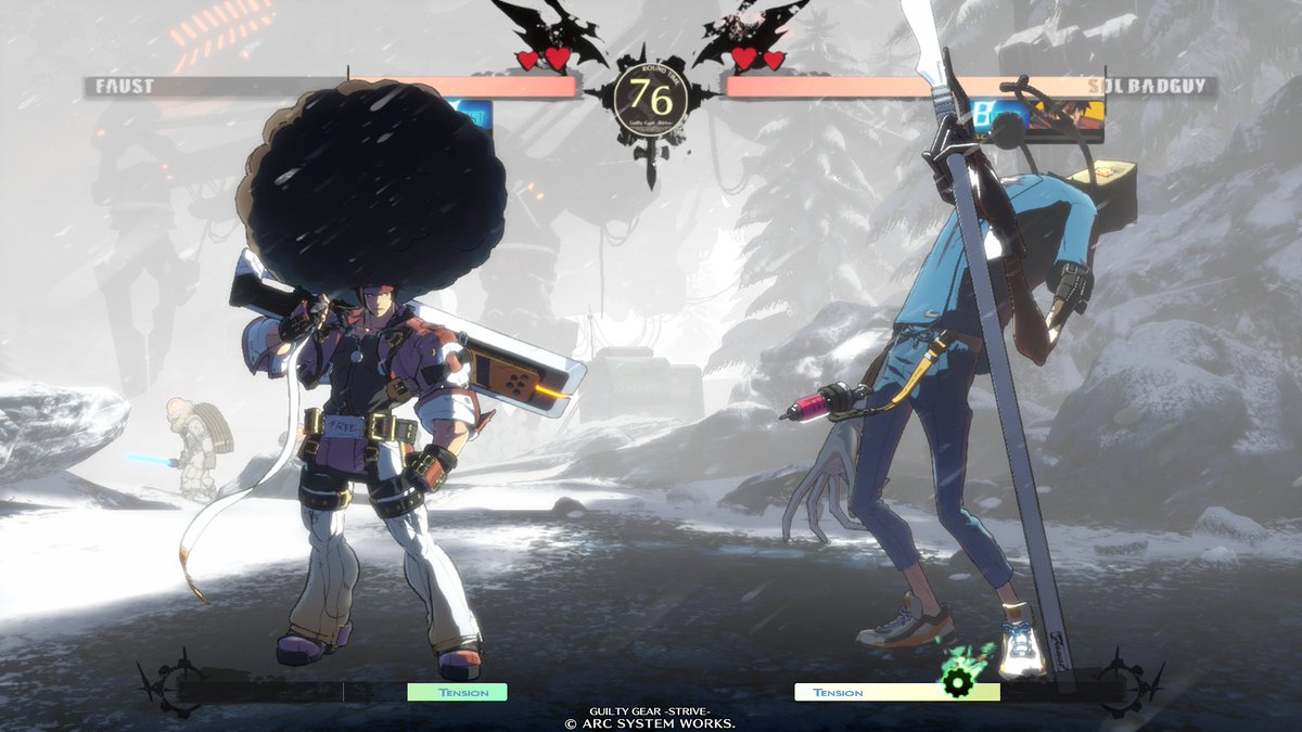 """Gatoray on Twitter: """"Guilty Gear FAUST Afro style with cmd grab part 1 #GGStrive… """""""