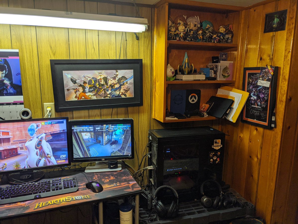 This Is How I Playaparttogether Show Me Your Gaming Room General Discussion Overwatch Forums