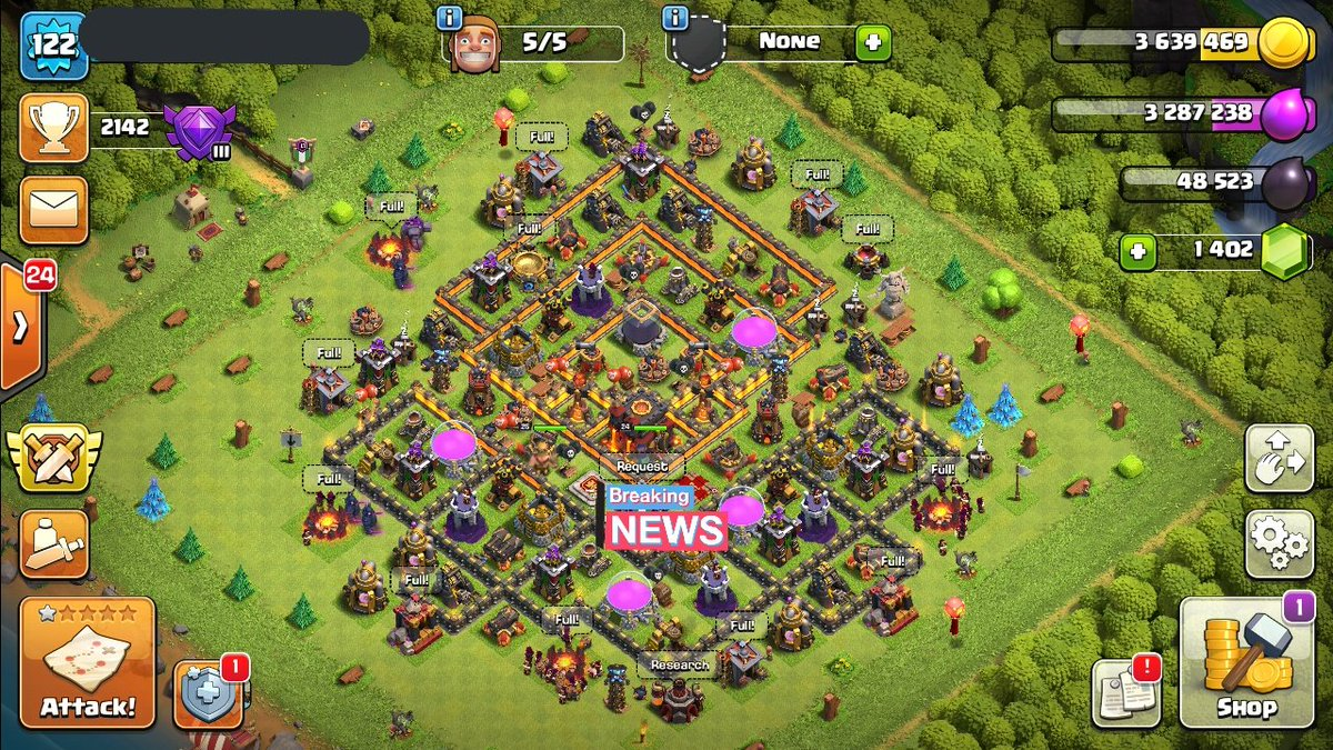 Clash of clans th10 for sale..DM for negotiations.Thank you😊 #coc #ClashOfClans #ClashRoyale #BrawlStars #Jupiter #UFCSacramento #JoyceJennings  #clashroyale  #cocth10 #maxedtroops #th10 #coc #Covid_19 #Bitcoin https://t.co/IwtiGvt7IP