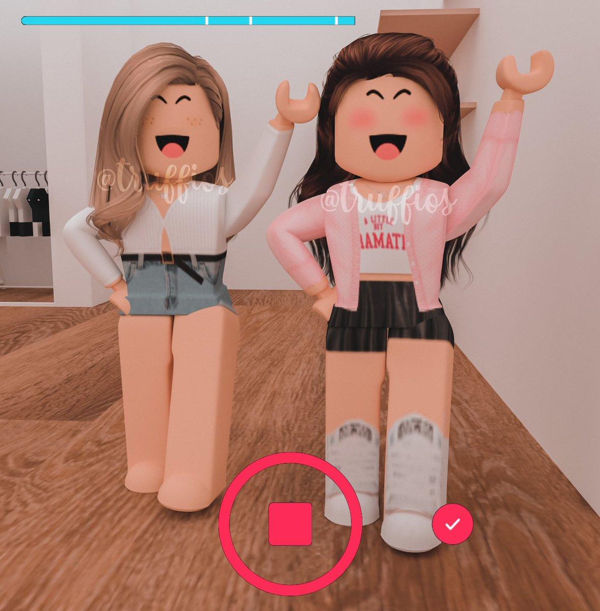 2 Gfx Roblox Girls Truffles Truffios Twitter