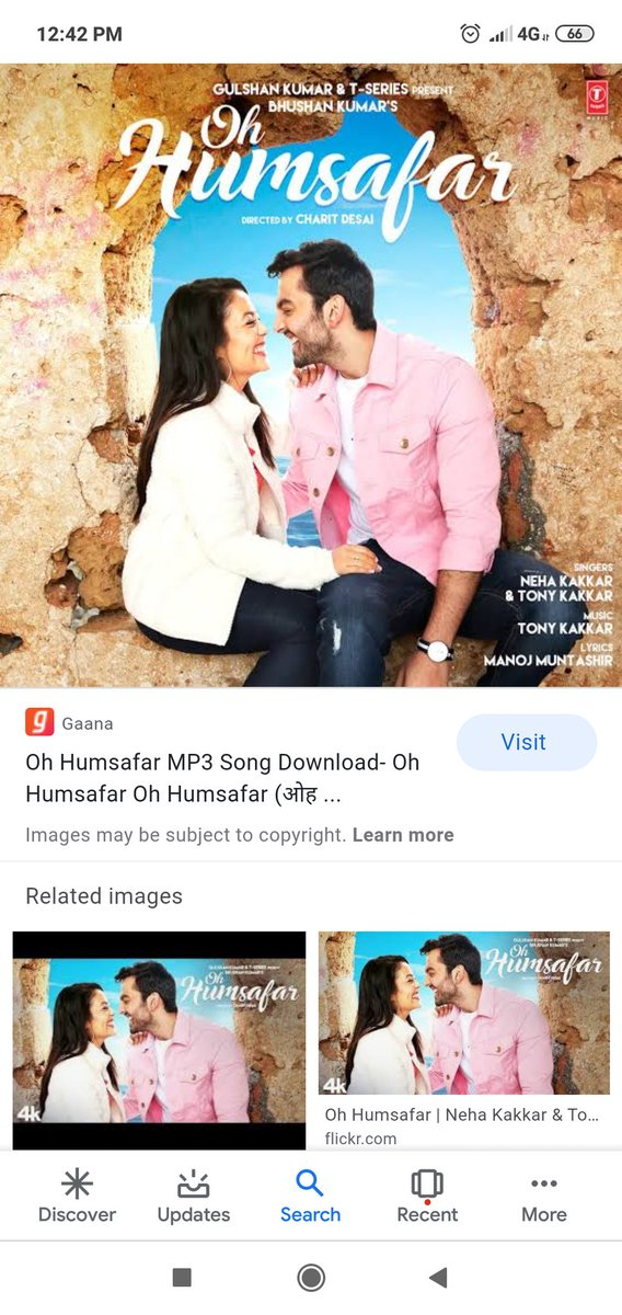 2 years of the most romantic song of all time #ohhumsafar thank you @TSeries ,@TonyKakkar ,@himanshkohli @iAmNehaKakkar for giving us this beautiful song once more thank you soooo much today also we are falling in love watching the video and listening this songpic.twitter.com/YmMwAJhCwP