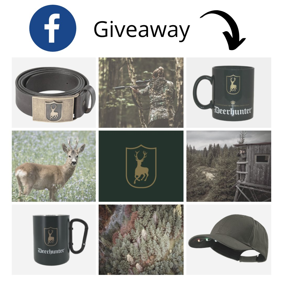 We have a cool giveaway on our Facebook where you can win a belt, cup or cap. Check it out 😎👇  https://t.co/sLZZYhM9nW  We will find a winner on Tuesday, April 21 at 2 PM 🍀  #Deerhunter #huntinggear #mugs #cups #belts #caps #giveaway https://t.co/yzL4C3sz3q