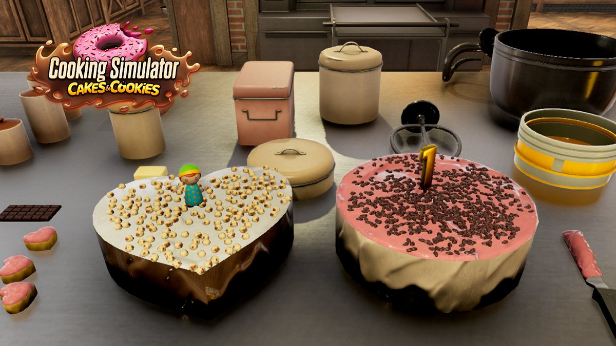 Marvelous Cooking Simulator On Twitter Heart Shaped Or Oval What Do Personalised Birthday Cards Paralily Jamesorg