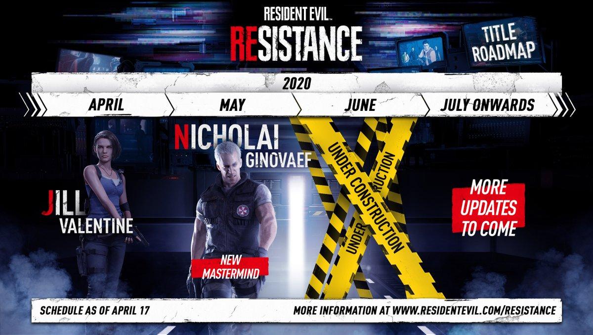 Resident Evil On Twitter Jill Valentine Has Joined The Survivor