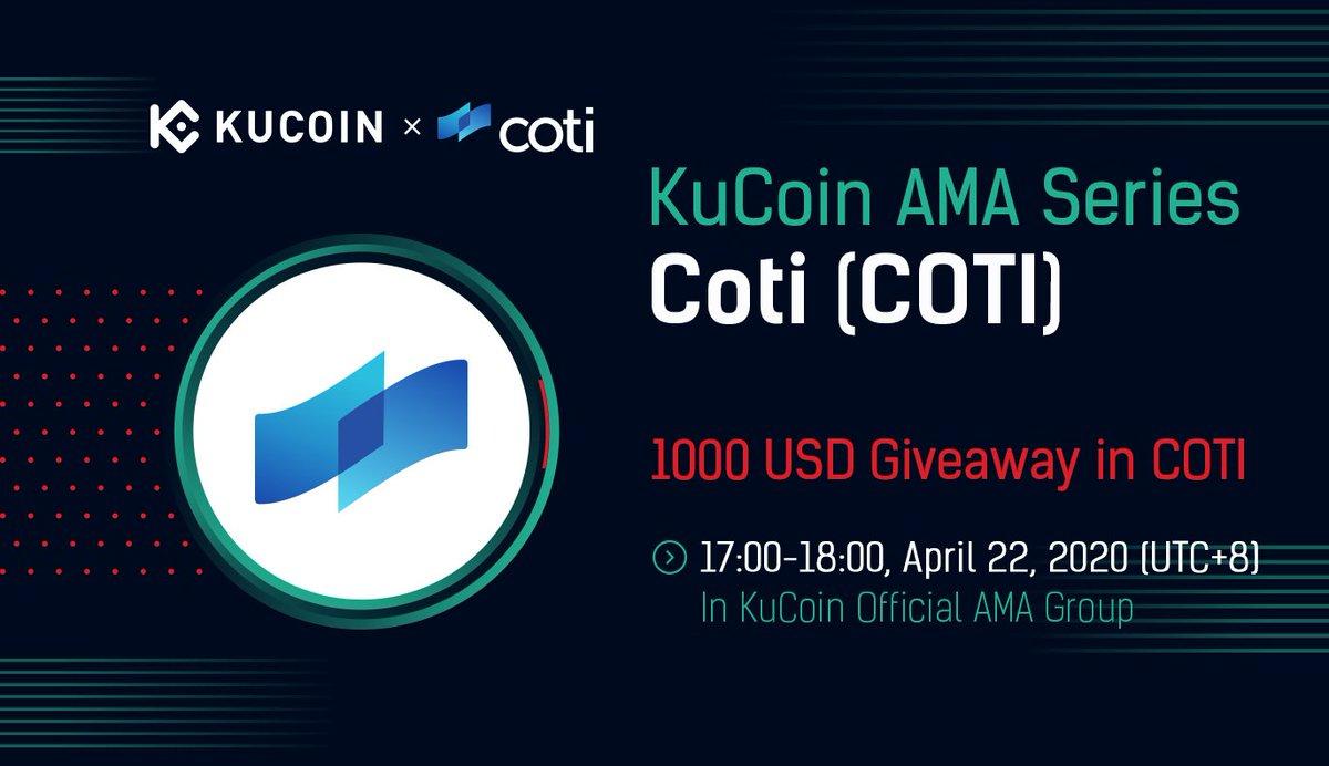 Coti Coti Kucoin Ama Cryptocurrency Calendar