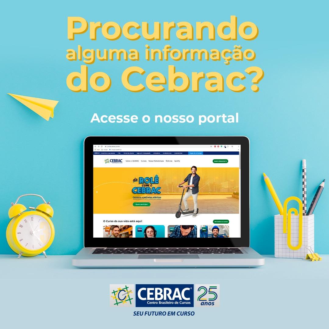 Acesse nosso portal: https://t.co/ZDL1fh60S5 e confira diversas informações sobre os cursos, metodologia e promoções! 💻😉 #portal #cebrac #edtech https://t.co/DMnjBJ0RVp