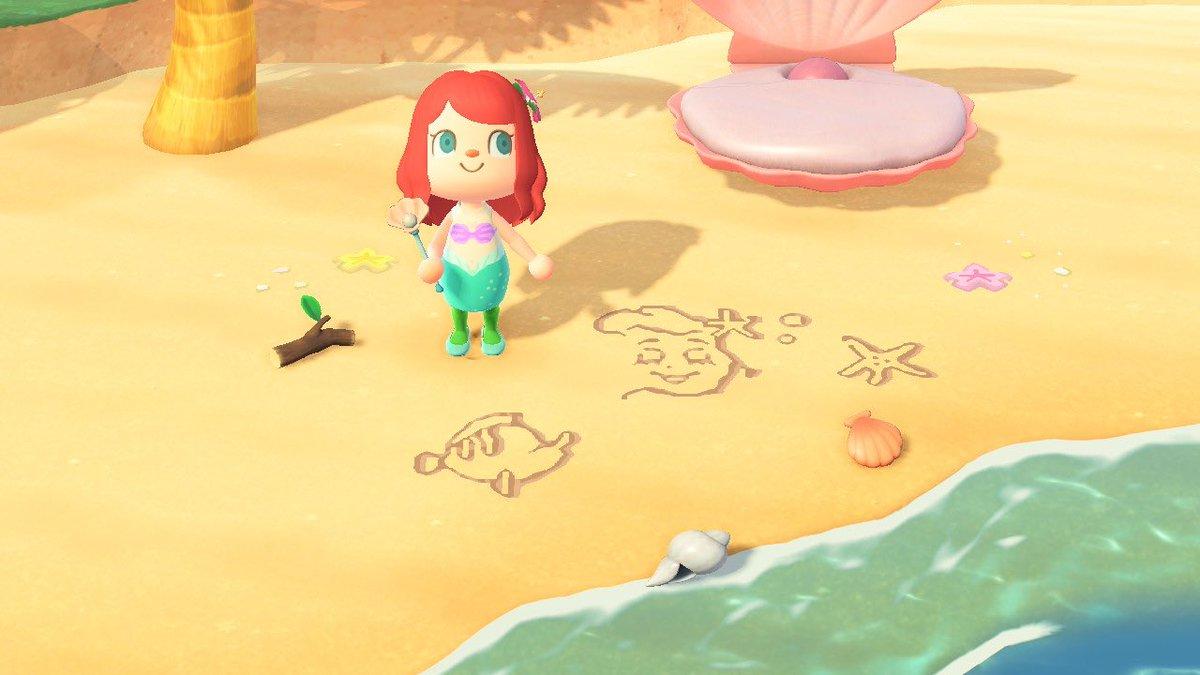ヒトデ あつ森 砂浜 【あつ森】砂浜アートや砂絵のマイデザインIDまとめ一覧