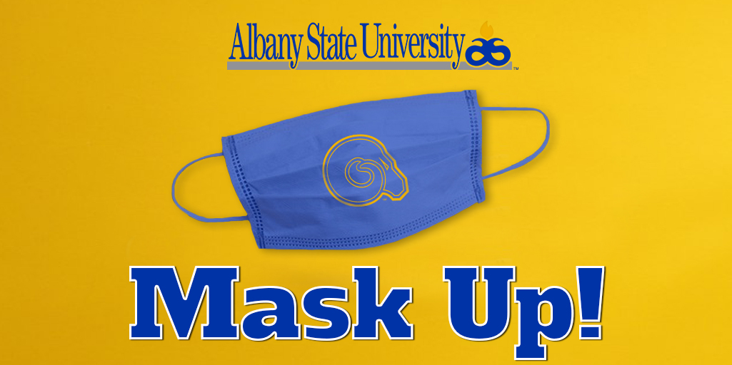 #AlbanyState is doing our part to flatten the curve in our community. Let's #MaskUp, ASU! We will get through this together because we are #ASUStrong. 🐏💙💛 https://t.co/T4bdSASLoo