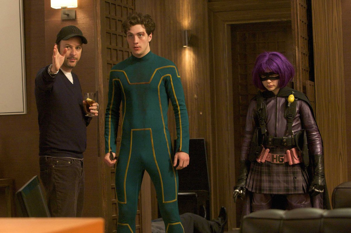 Kick-Ass screening with the cast today for our #MillarGeekFriday lockdown watch party. Just switch on the movie at home at noon LA/ 3pm NYC/ 8pm UK time to join us! @eddiehamilton @Dexfletch & all others come join us! https://t.co/07T6HfpMCl