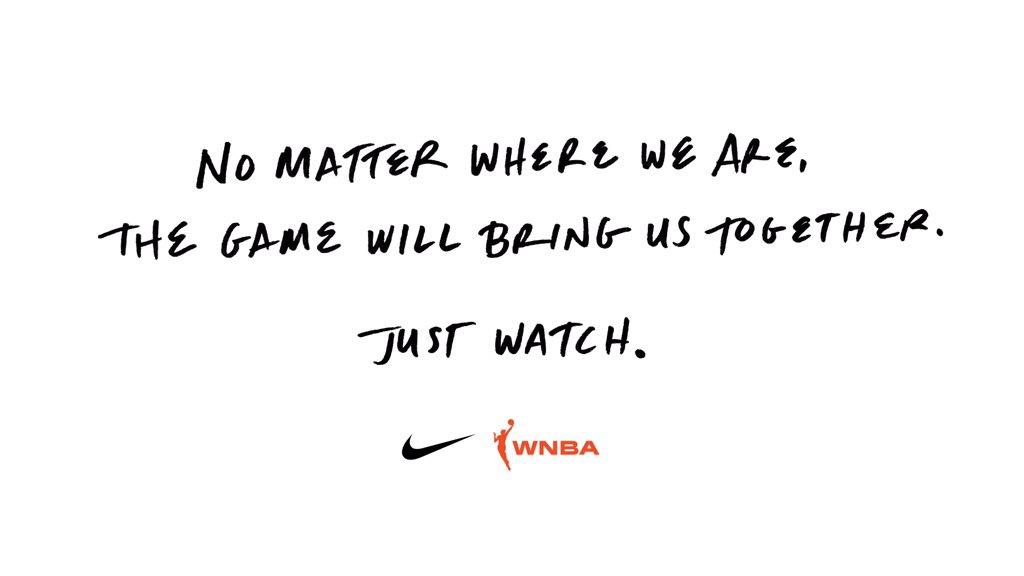 Drafted apart but always together. #justdoit #WNBADraft https://t.co/GUhCYxrJ97