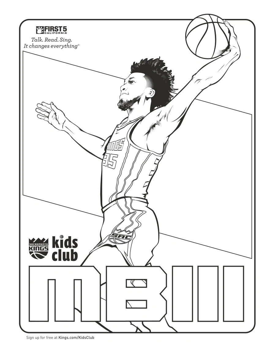 Next up... It's time to draw @MB3FIVE!    Reply to this tweet using #KingsColoringContest so we can see your masterpiece 🖌 https://t.co/VfldStOjCa