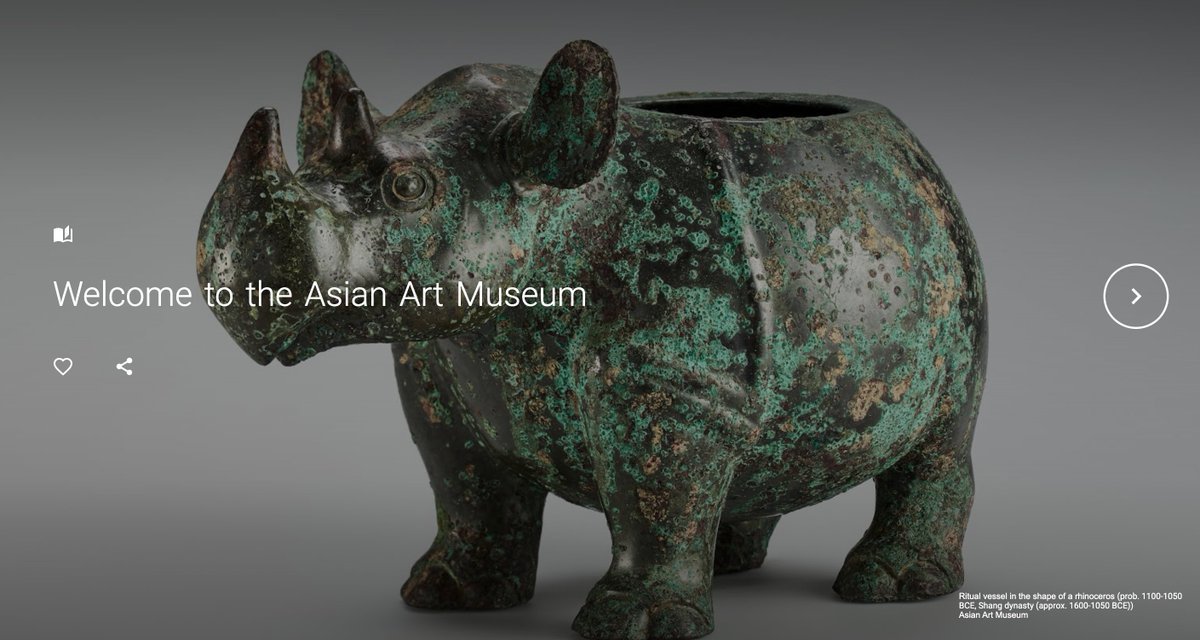 We are excited to share that we are a @GoogleArts Partner! 🤝 Thanks to @Google, we are continuing to share online presentations of museum exhibitions and highlight some of our most compelling and beautiful artworks! https://t.co/fNQKpxnIkX #GoogleArtsAndCulture #APAHM https://t.co/QHIIWvMpRj
