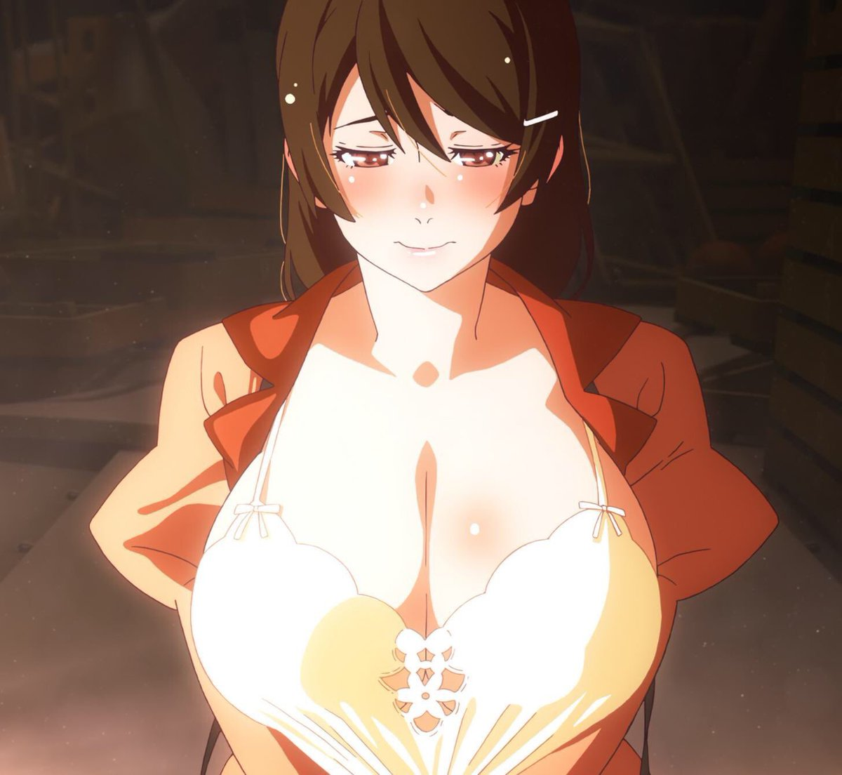 Monogatari big boobs Key Cr Ez Tohruszn On Twitter I Need This Woman To Use Her Overly Plump And Fatty Breasts To Massage My Dick While She Sticks Her Tongue Directly Into My Dick Hole Forcing It To