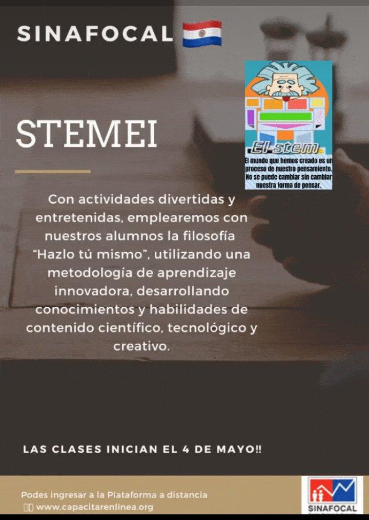 Desarrolla tus habilidades con STEMEI. Inscribite ya!! https://t.co/WWIPusw1jP @mongelospy @Carlabacigalupo @MTESSPY https://t.co/ewkcaUh0QM