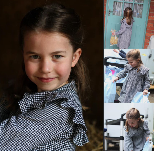 Happy birthday to Princess Charlotte who is five today. Thanks to the @RoyalFamily for these wonderful photos taken by The Duchess of Cambridge. https://t.co/Vz2VCXDgBS