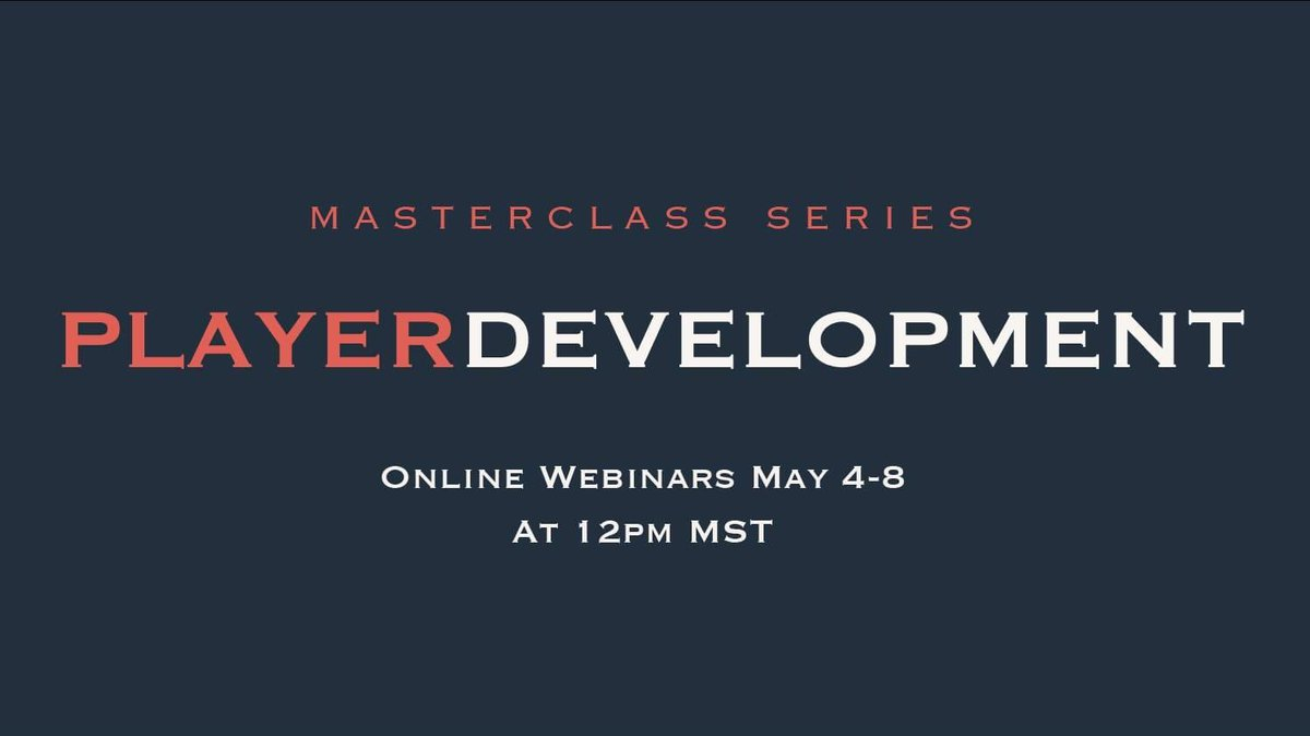 Excited to share our English Premier League Player Development Masterclass Series taking place next week. 5 experts in player development from England will be joining us to support the development of our players/parents/coaches. Find more details here: https://t.co/6gLr07g4E5 https://t.co/9bcM6cq4aF