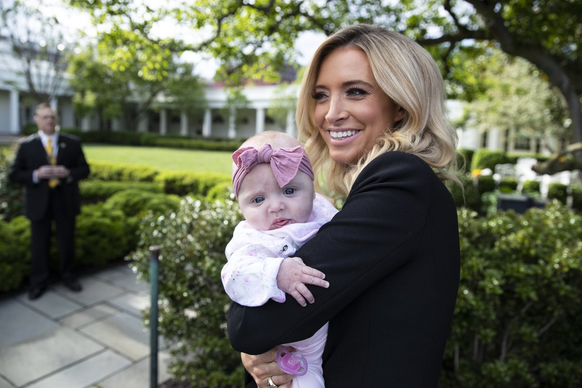 Kayleigh Mcenany On Twitter So Special To Share This Day With My Daughter Blake From The Podium To Marine One It Is An Honor To Serve The American People And Share The