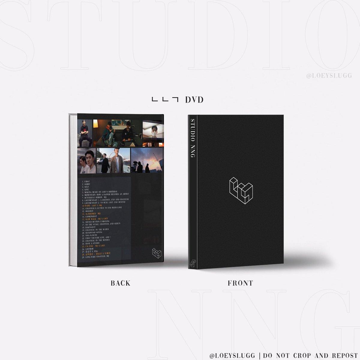 Studio NNG DVD ♥️  Pre-order here: 😉 https://t.co/sRVemPQdWr  #AGiftForChanyeol #여리에게ㅇㅍㅇ  #CHANYEOL #찬열 #StudioNNG @27xCHANYEOL @STUDIONNGxLOEY https://t.co/nHU50FpF7u