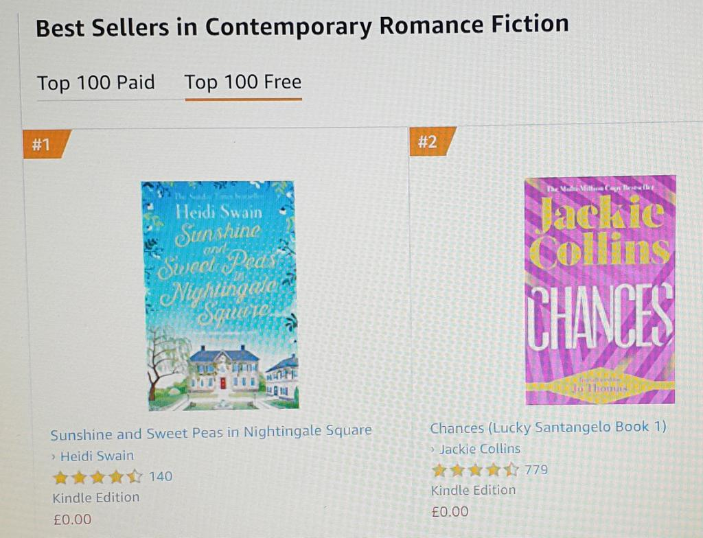 amazon co uk top 100 free kindle books