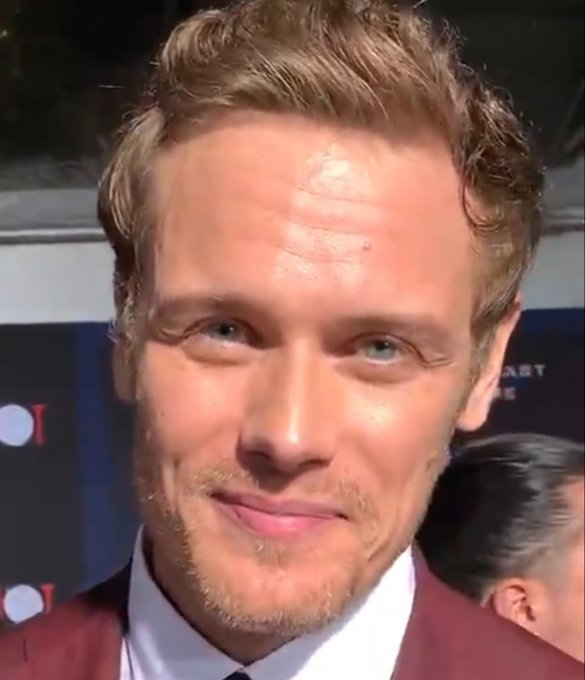 A BIG HAPPY 40TH BIRTHDAY SAM HEUGHAN YOU NEVER LOOKED BETTER