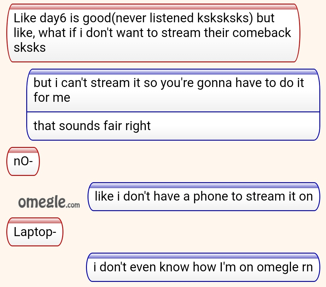 On omegle people anyone know
