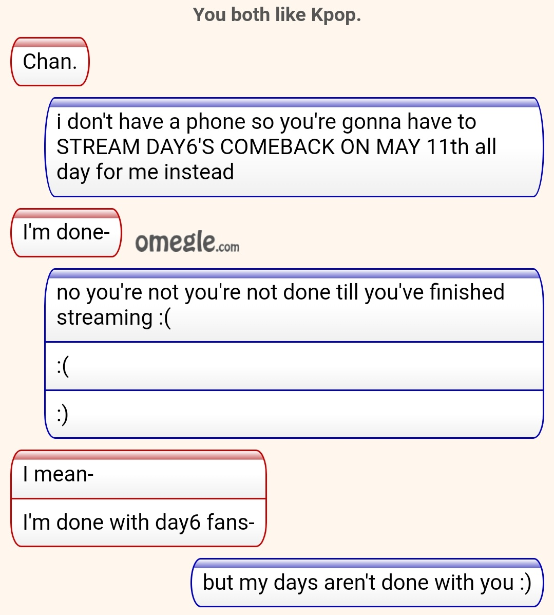 On omegle people 10 Chat