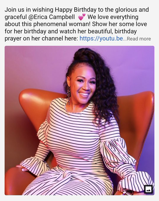 Happy Birthday     Erica Campbell
